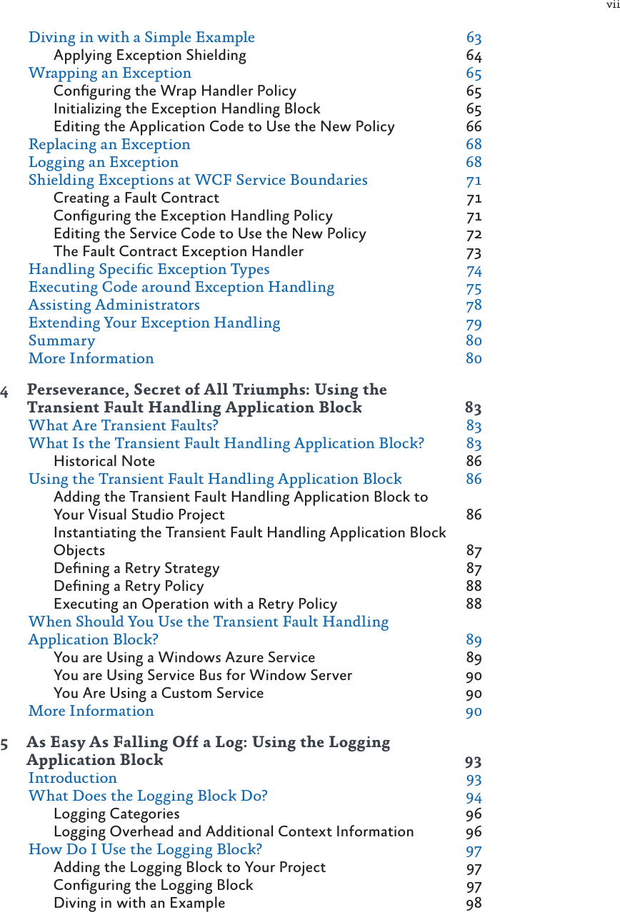 Microsoft enterprise library dev guide 2ed