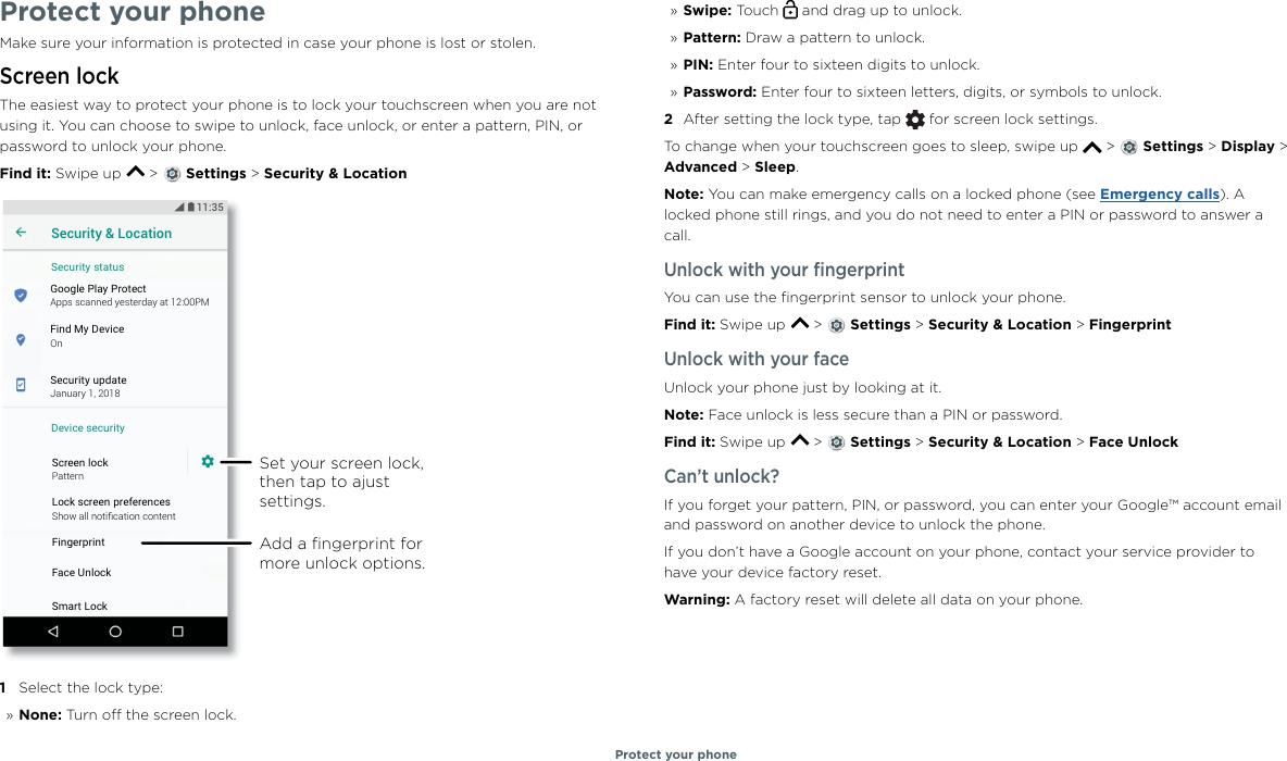 Motorola Moto G6 Manual UG NA Retail EN US SSC8C29867A