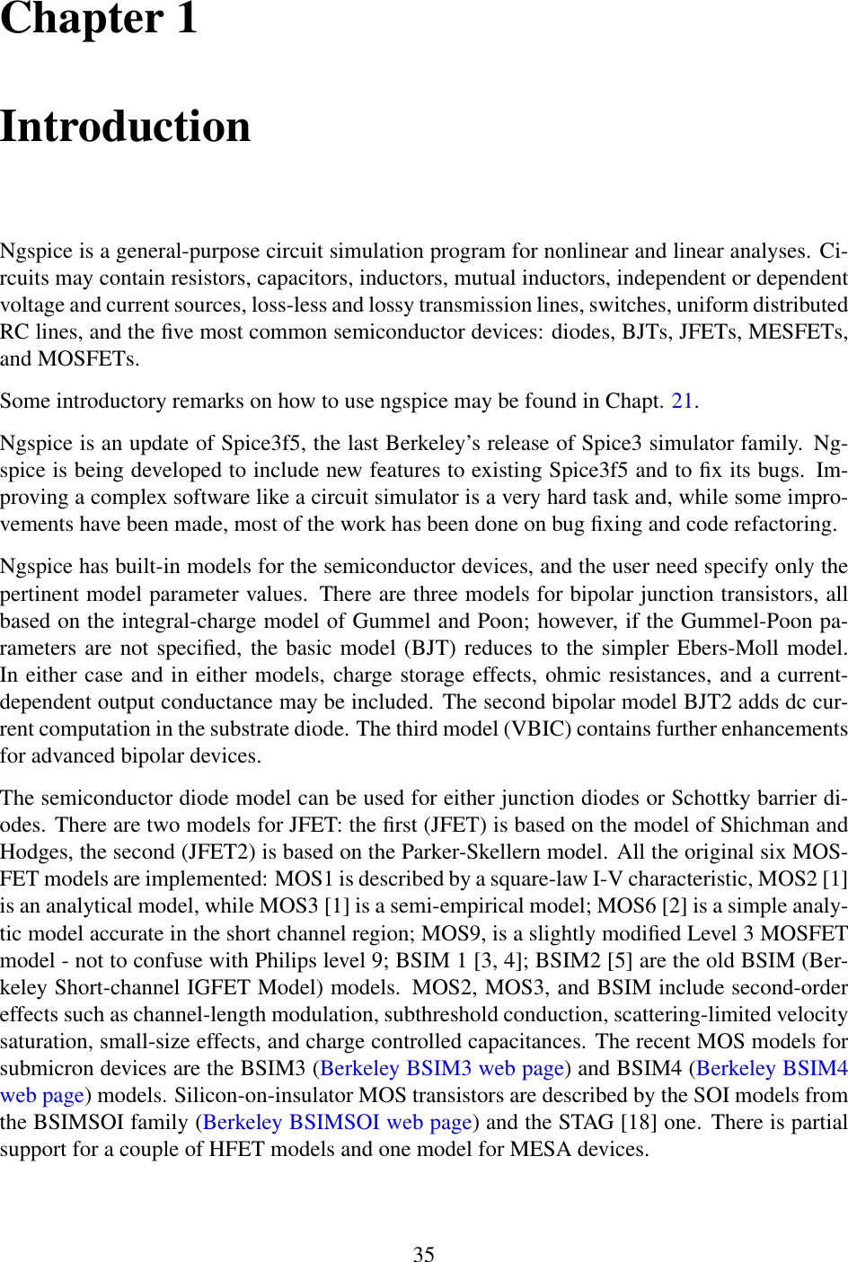 Ngspice User Manual V27