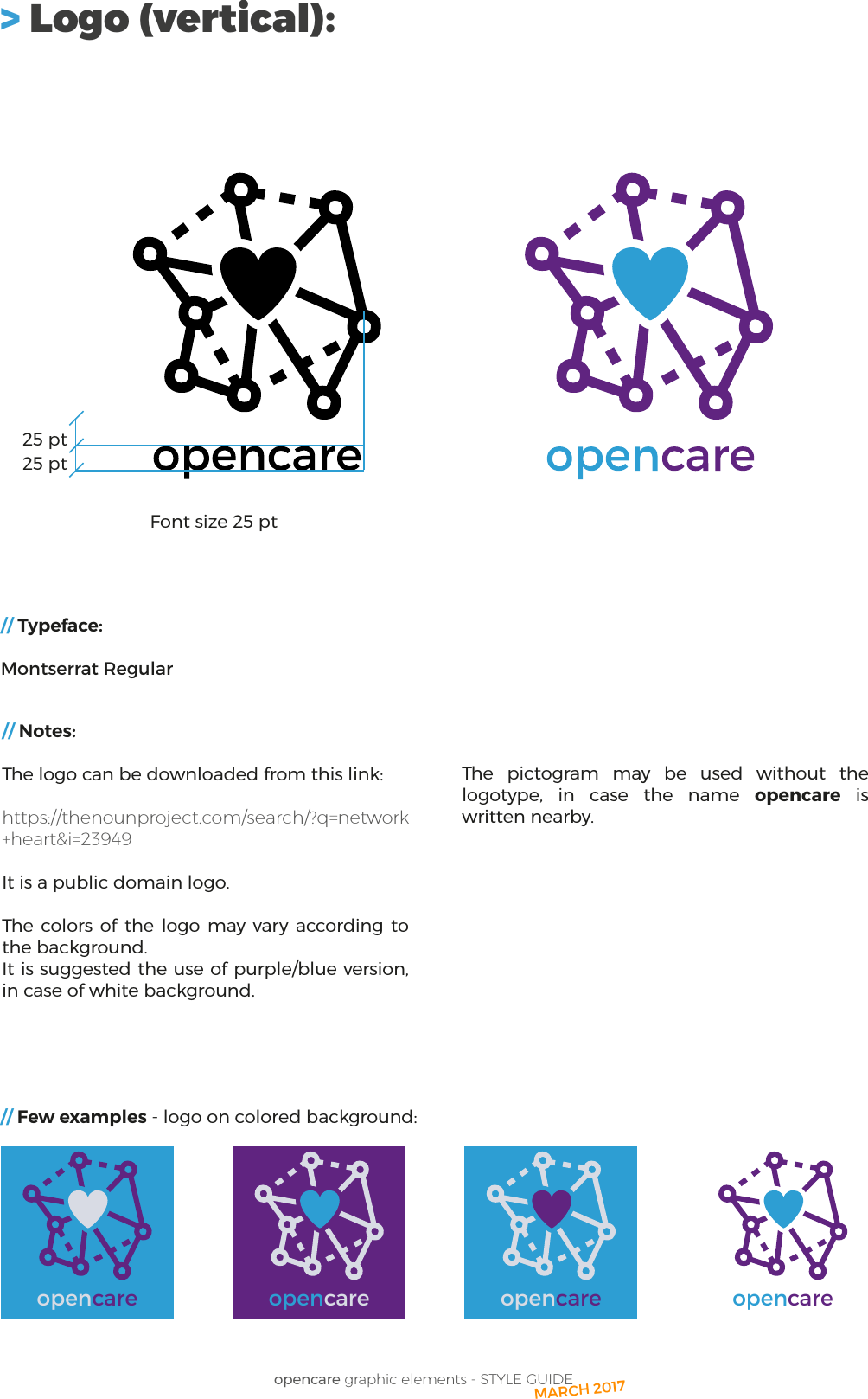 Opencare graphic guide