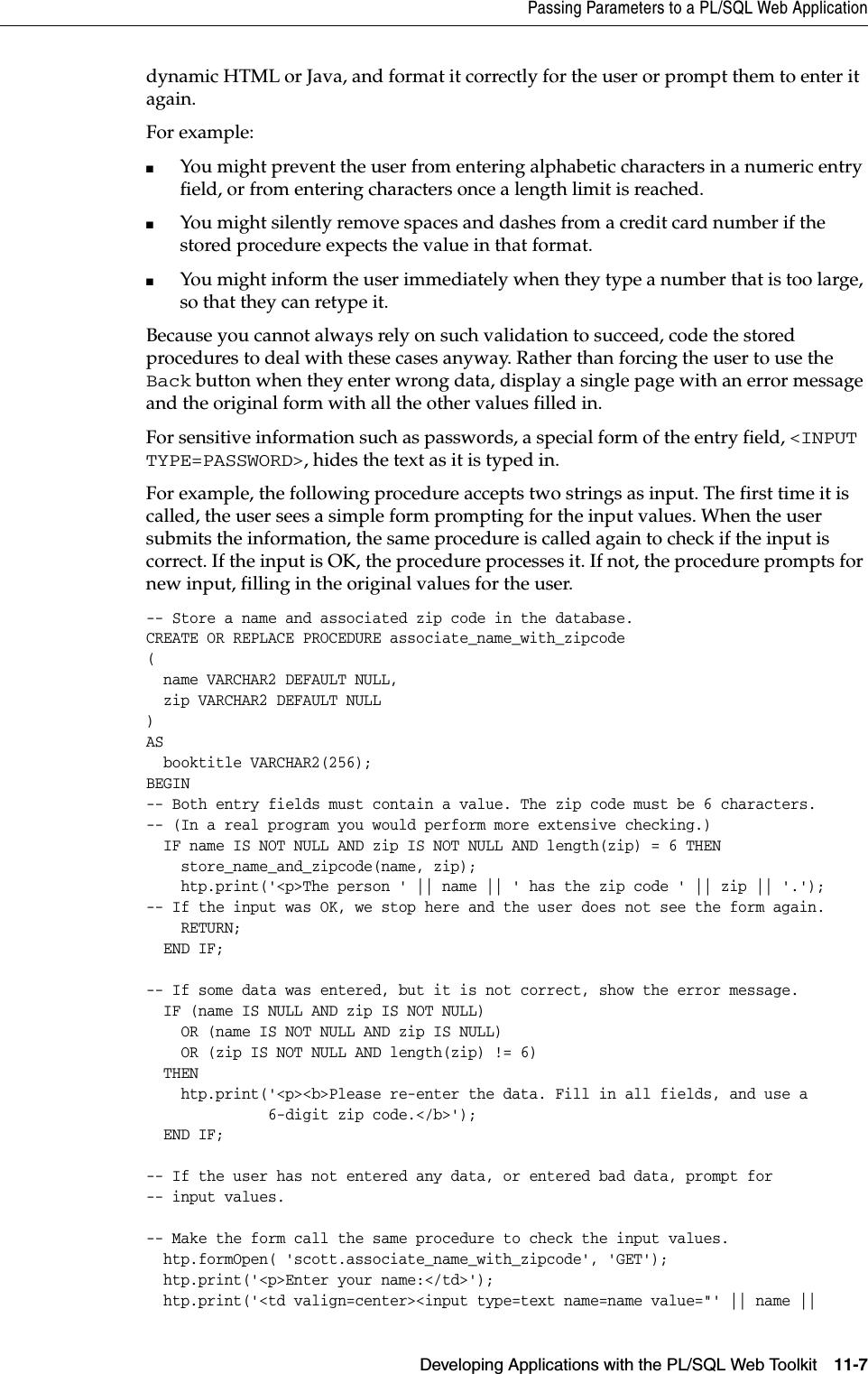 Oracle Database Application Developer's Guide Fundamentals Developer