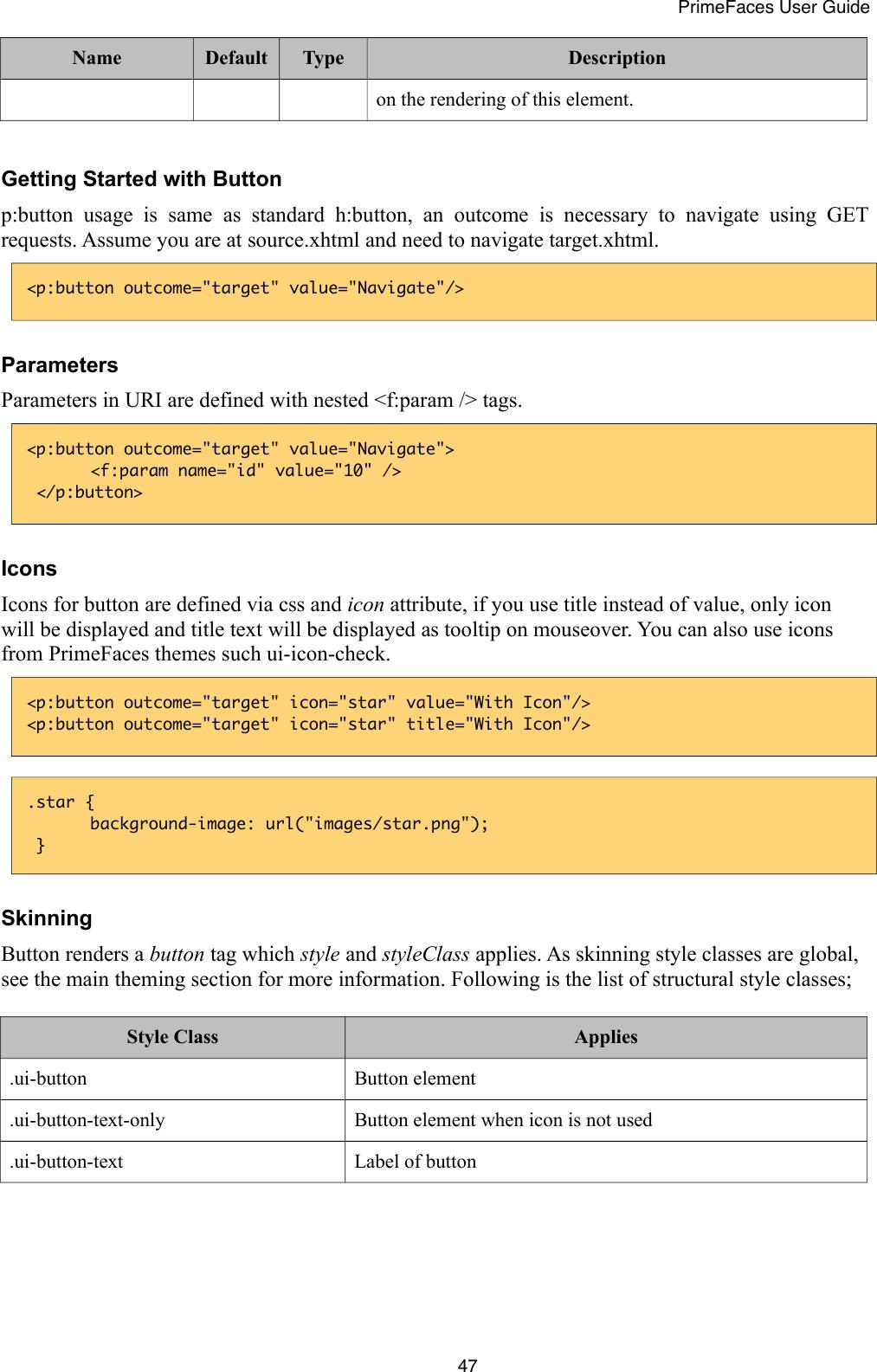 Primefaces User Guide 6 1