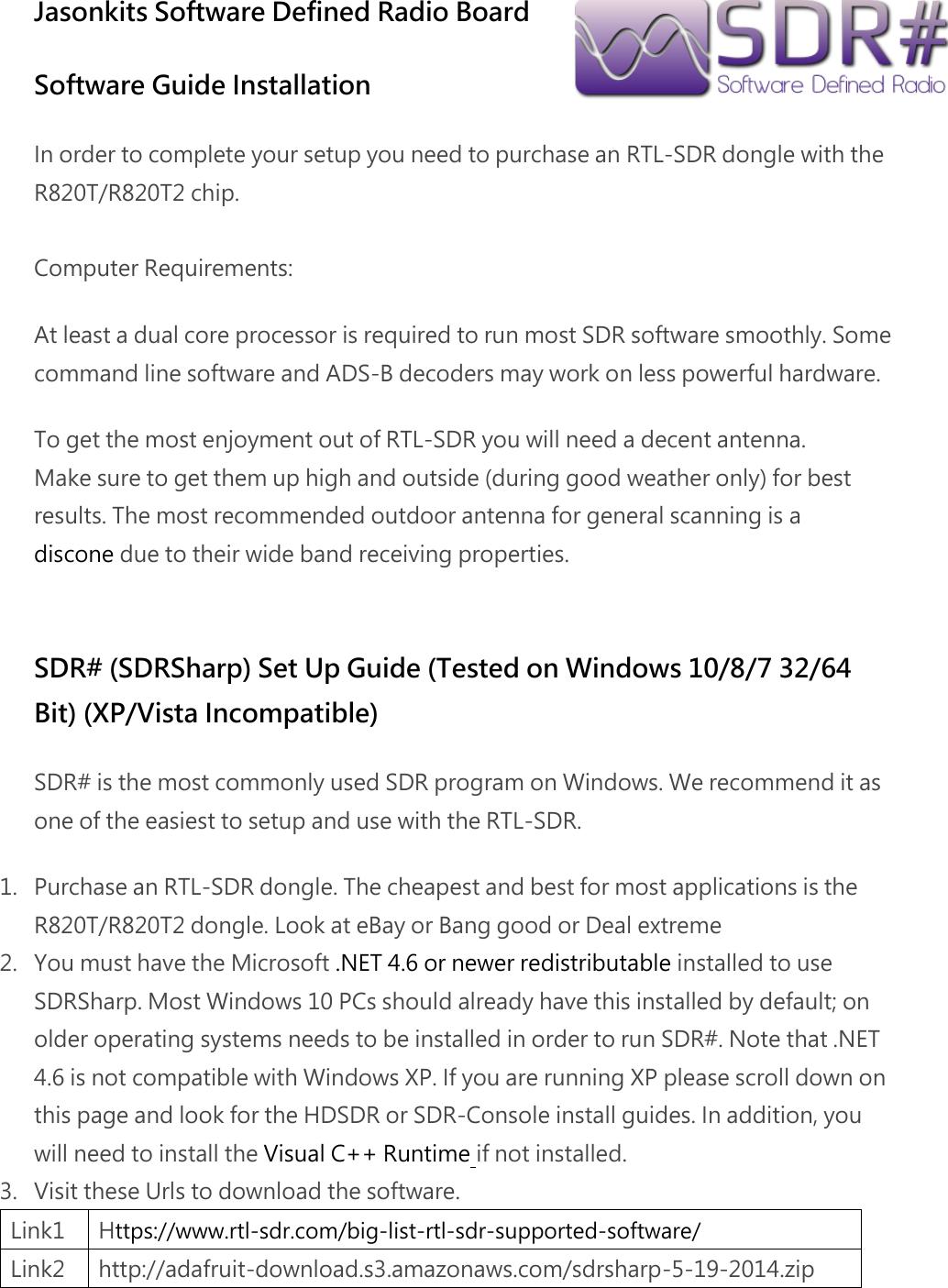 Sdrsharp Windows 10 64 Bit