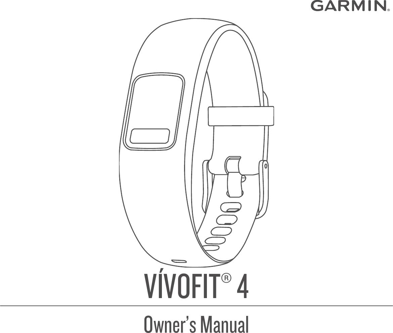 Vivofit 4 Owner's Manual OM EN