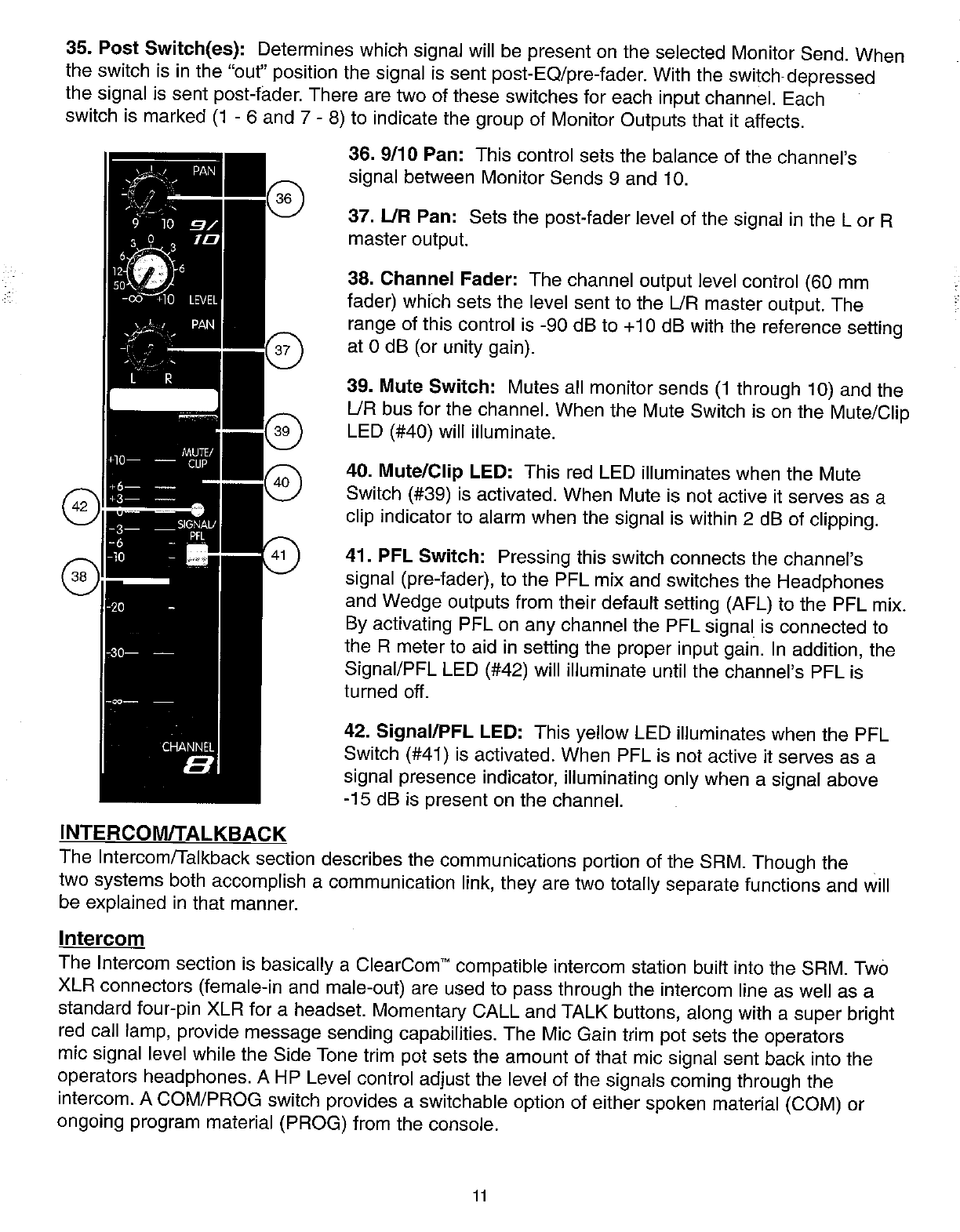 Peavey Srm 2410 Users Manual
