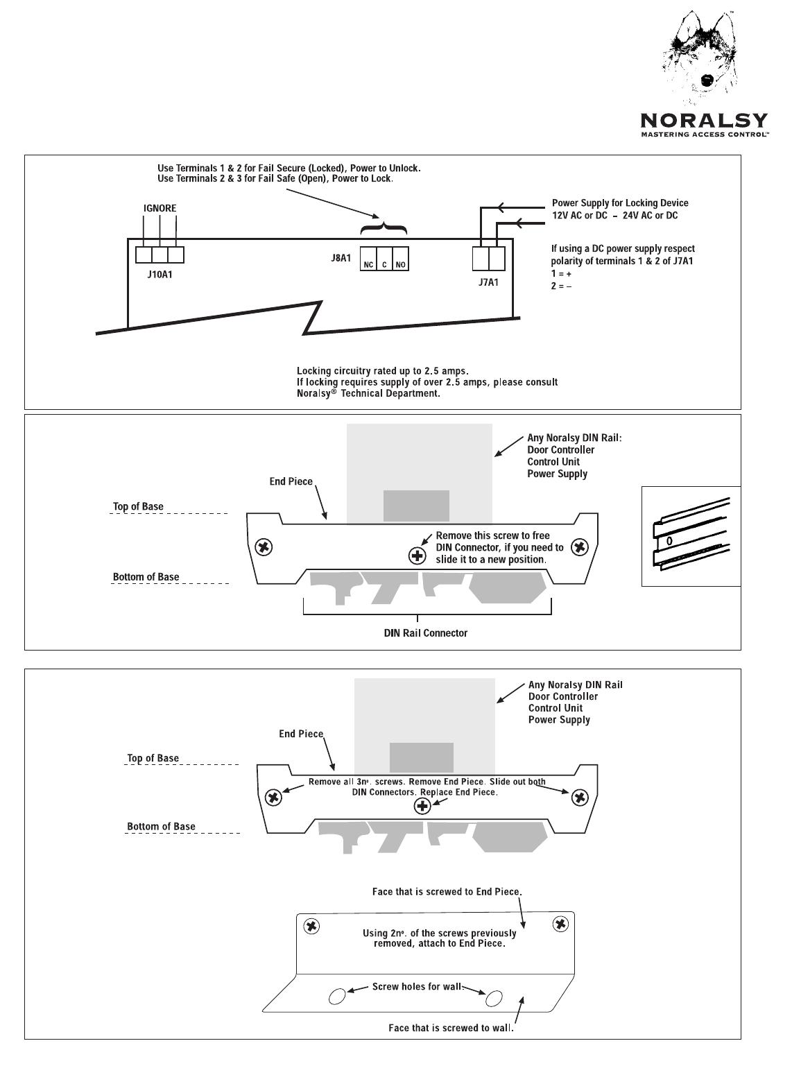 Pelco Door Ecp190 Users Manual Din Wiring Diagram Numbers 15