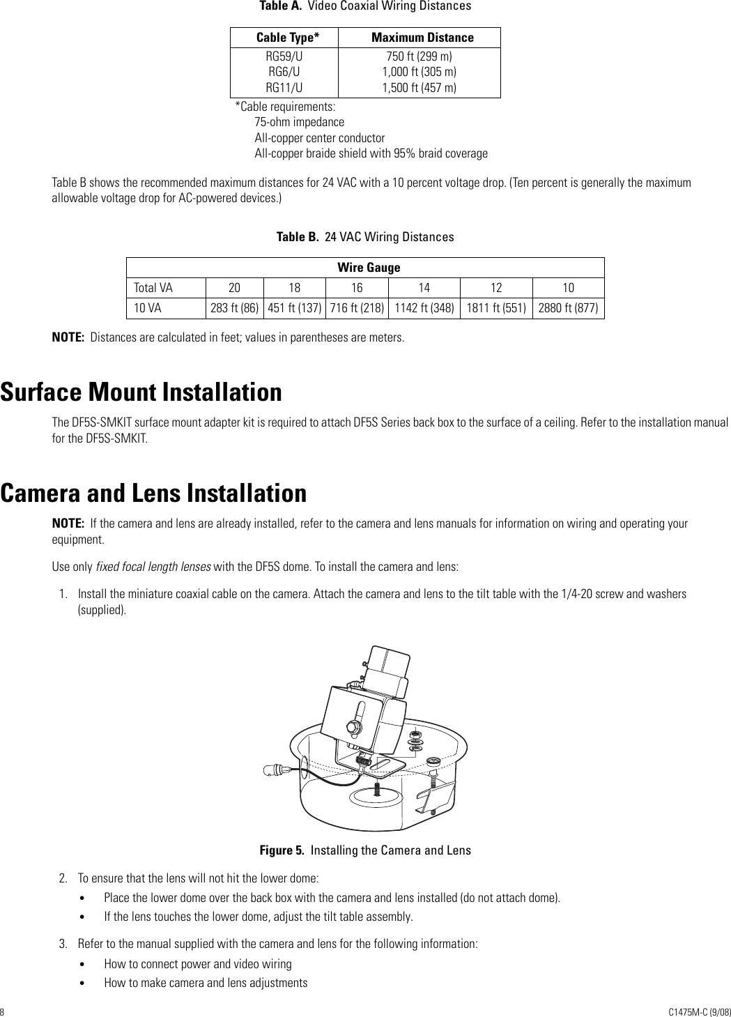 Pelco Security Camera C1475M C Users Manual ...