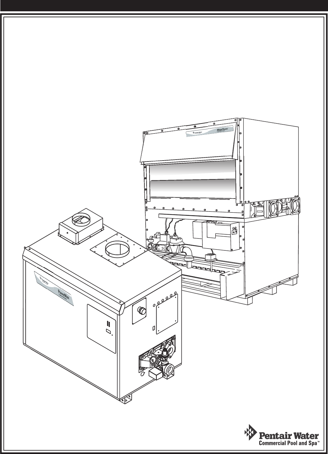 Pentair 472645 Users Manual Commercial Heaters Parts List Pool Heater Wiring Diagram