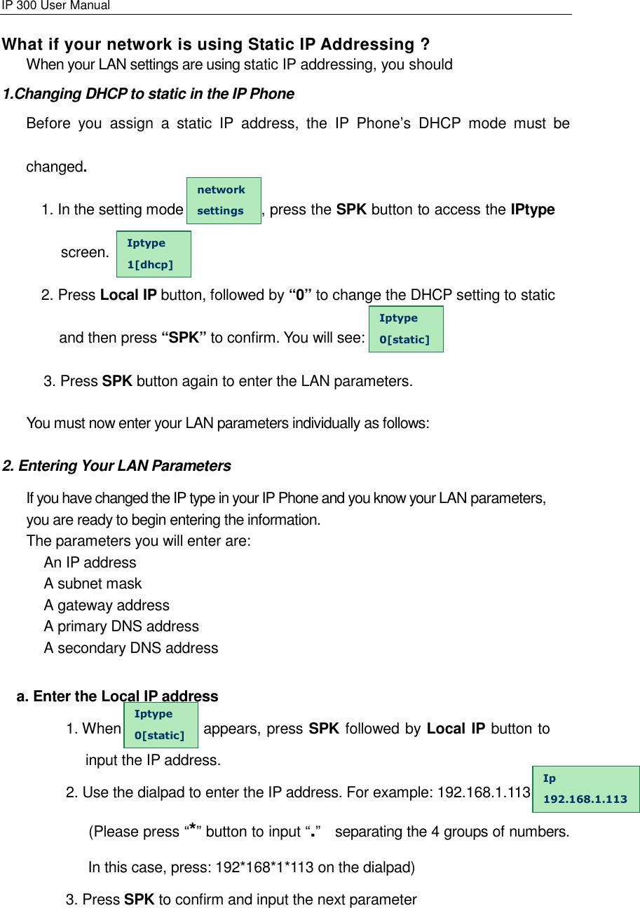 Perfectone Net Ware Ip 300 Users Manual IP300_USERMANUAL