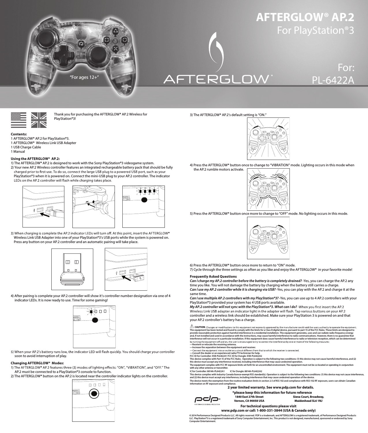 performance designed pl6422a1 afterglow wireless controller for ps3 rh usermanual wiki user manual sony playstation 3 PlayStation 3 Owners Manual