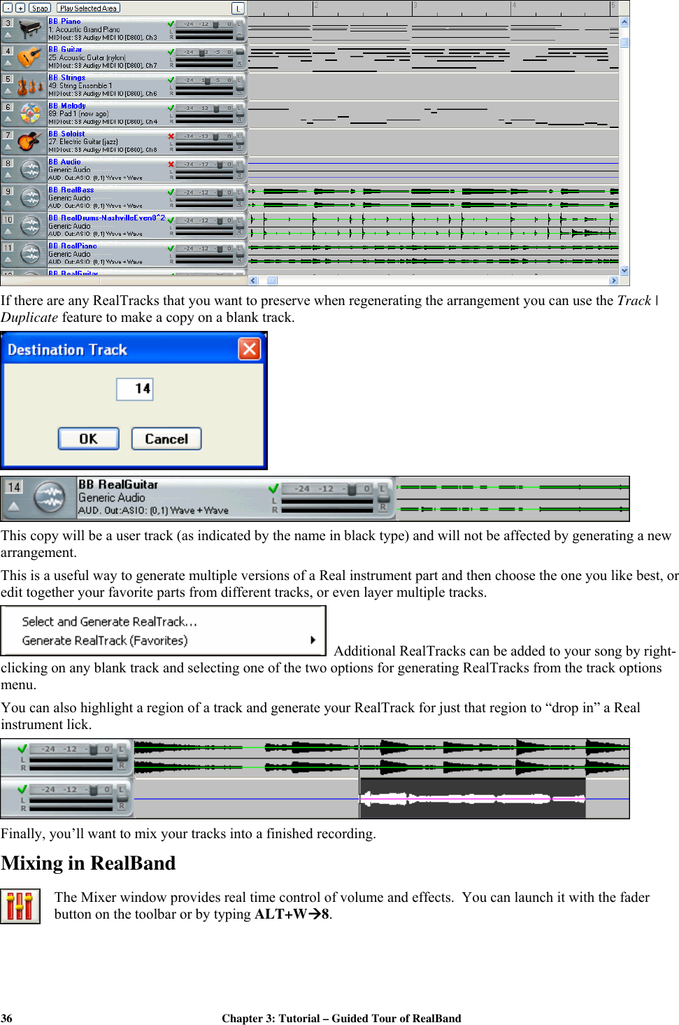 Pg Music Band In A Box Realband User Guide PowerTracks Pro Audio