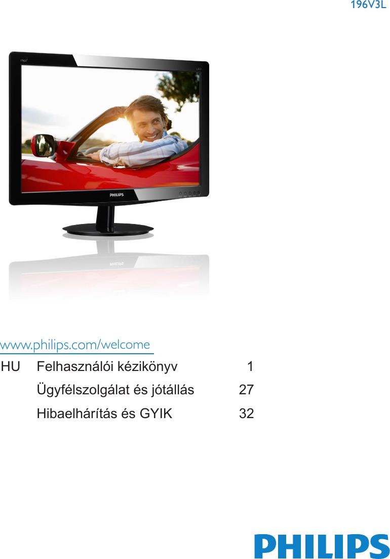 DRIVER: PHILIPS 196V3LSB500 LCD MONITOR