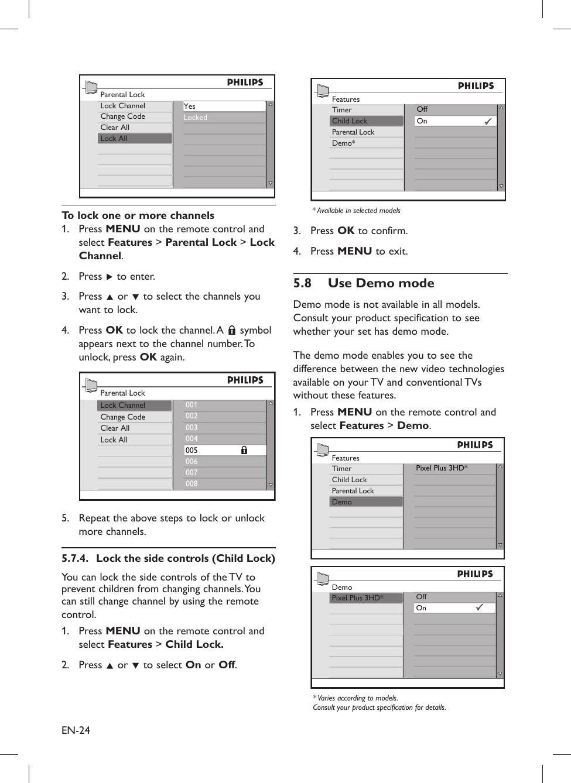 Philips 32PFL5203/98 AP_Eng_LC08E_R 13Mar08 User Manual 32pfl5203 98