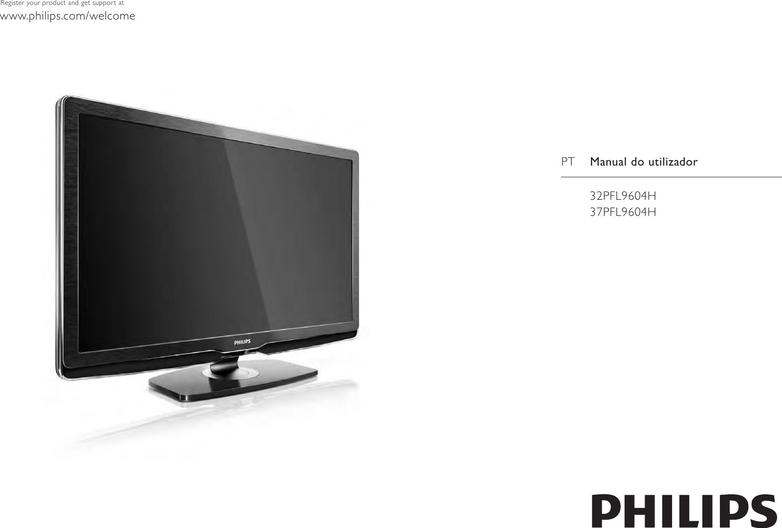 Philips 32PFL9604H/12 User Manual Brugervejledning 32pfl9604h 12 ...