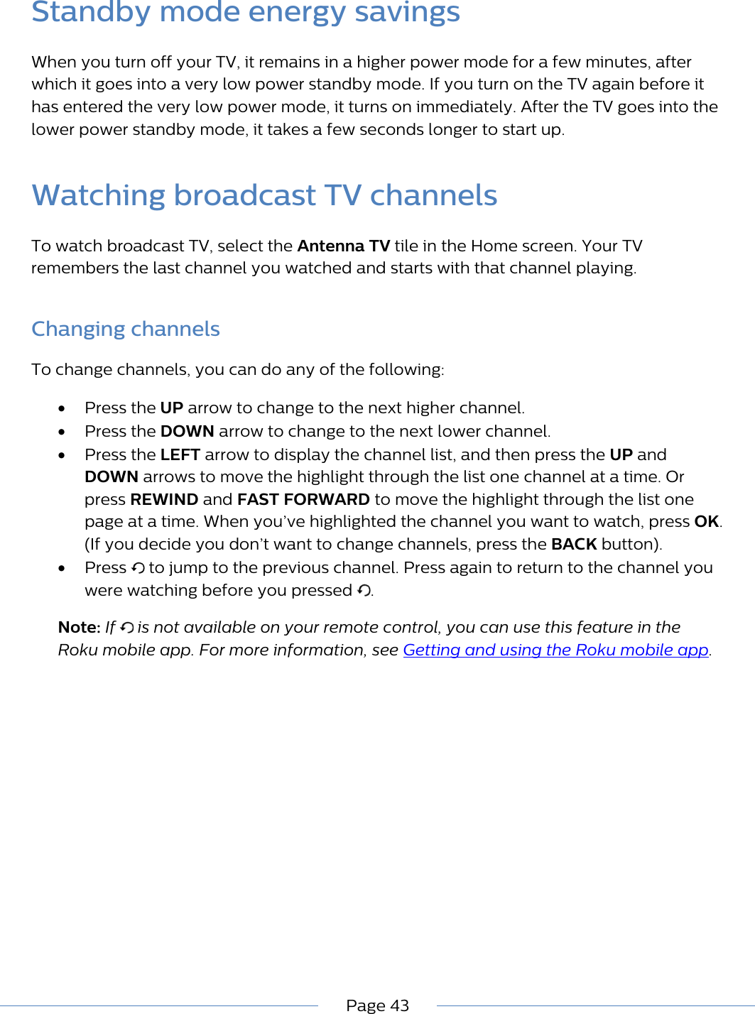Antenna Tv App