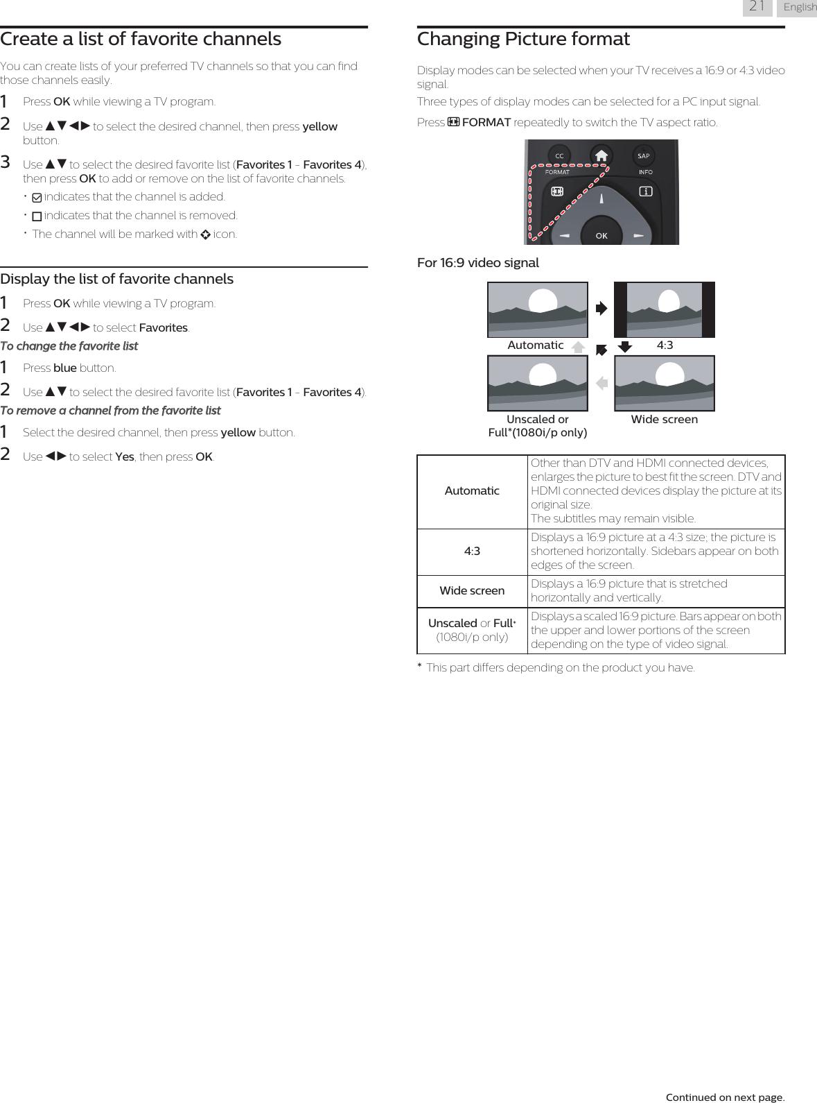 Philips 43PFL4902/F7 User Manual 43pfl4902 F7 Dfu Aen