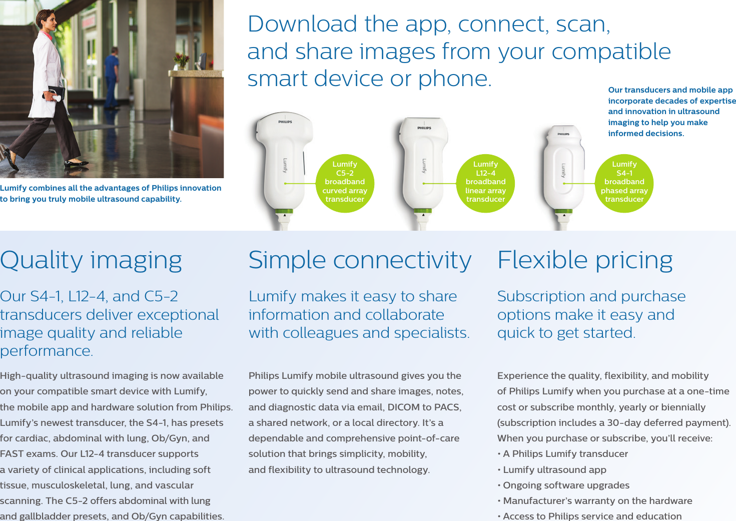 Philips Product Brochure 452299122131 Lumify E FNL Lr Oct16