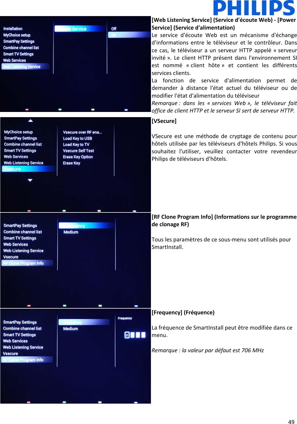 Philips Installation Manual 28 32 40 48 50HFL5x10_42