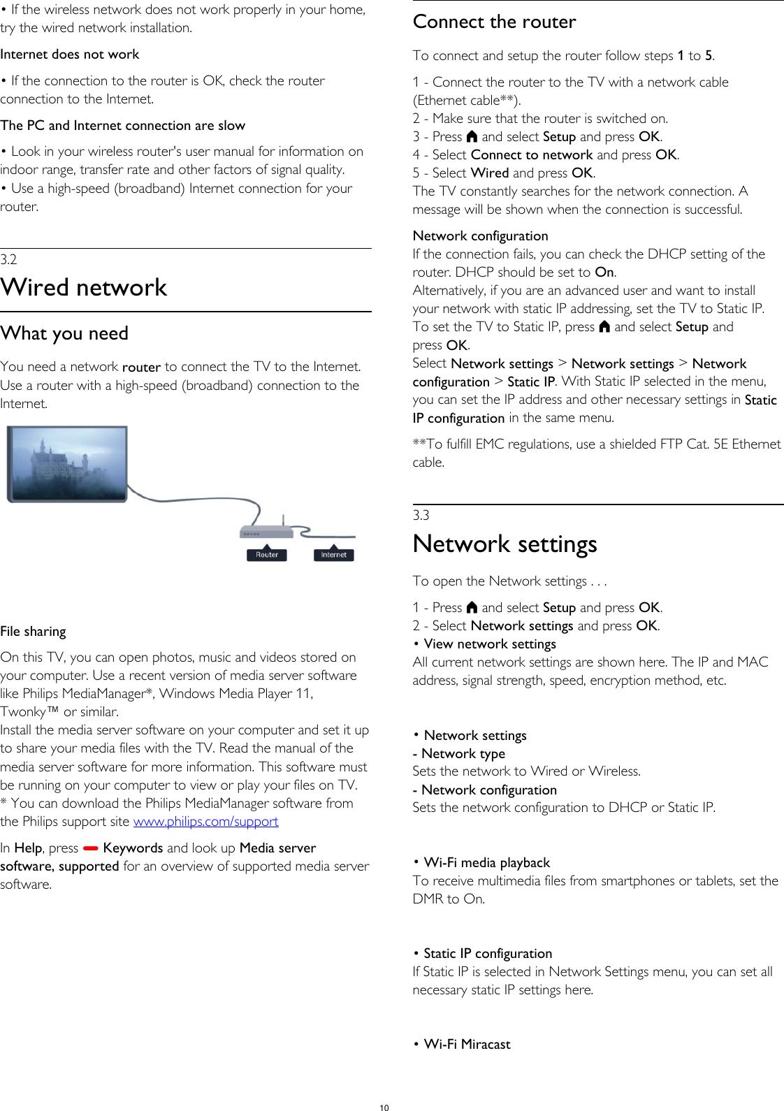 Philips 65PUT8609S/98 User Manual คู่มือผู้ใช้ 65put8609s 98
