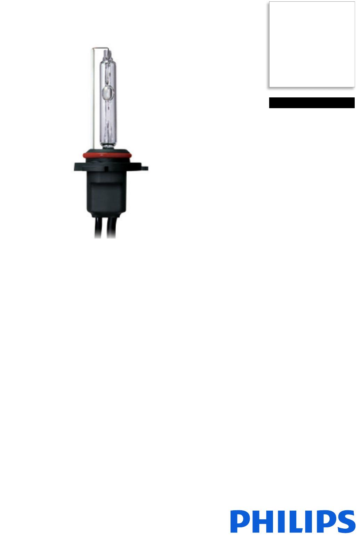 Philips 858224kx2 Xenon Hid Conversion Kit User Manual Leaflet Pss Aenpk Wiring Diagram