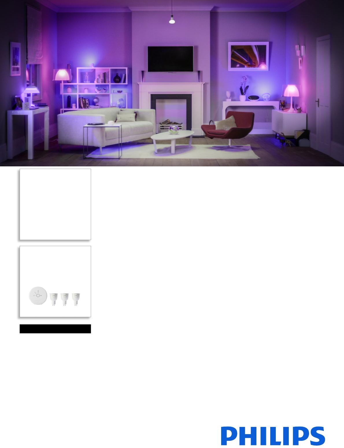 c14f2f67778 Philips 8718291770909 Personlig Trådløs Belysning User Manual Pss Dandk