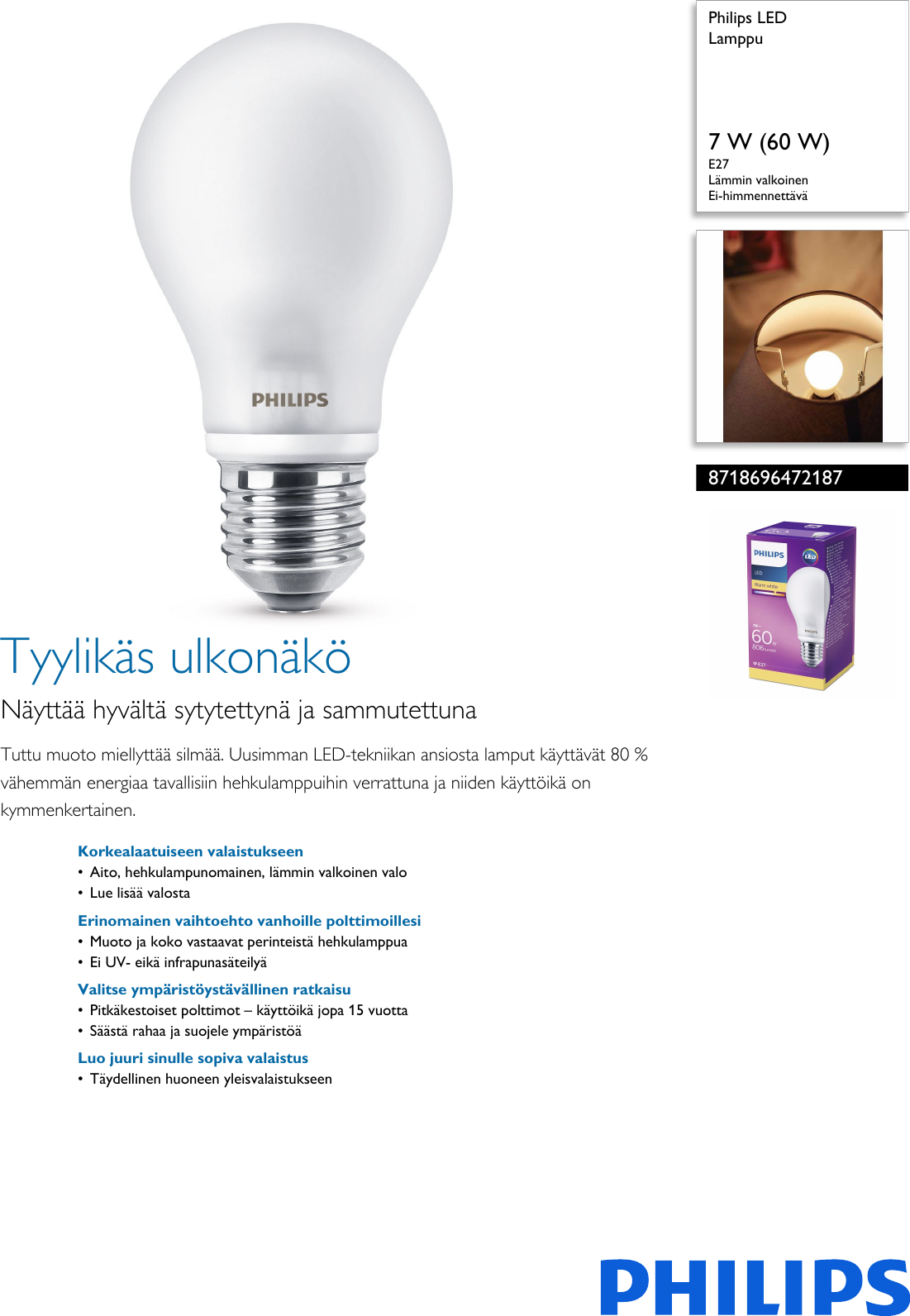 Älykkäitä valaistusratkaisuja yrityksille ja julkiselle sektorille