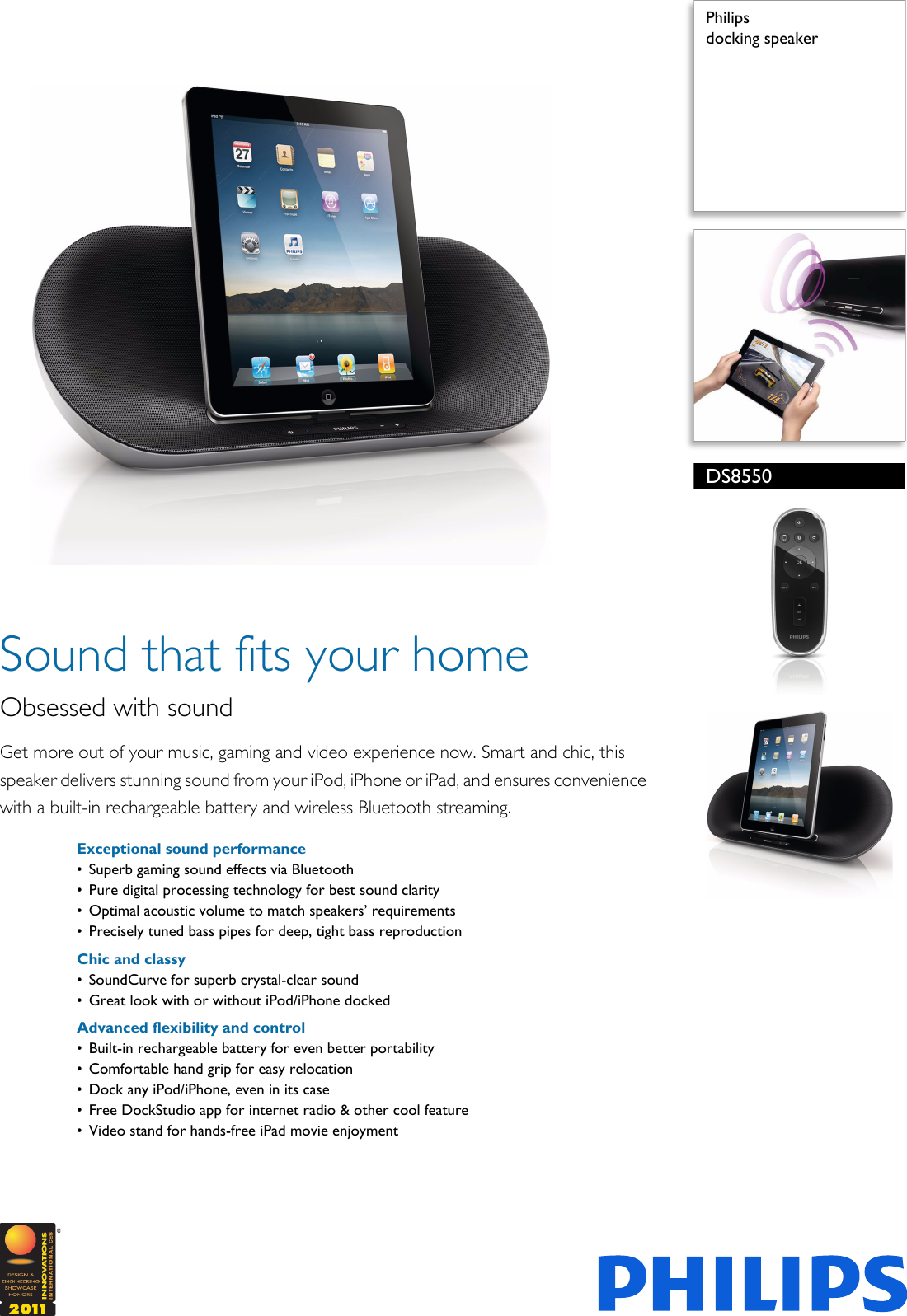 philips ds8550 user guide daily instruction manual guides u2022 rh testingwordpress co iTouch Docking Station Philips Philips DC291 37 Docking Station
