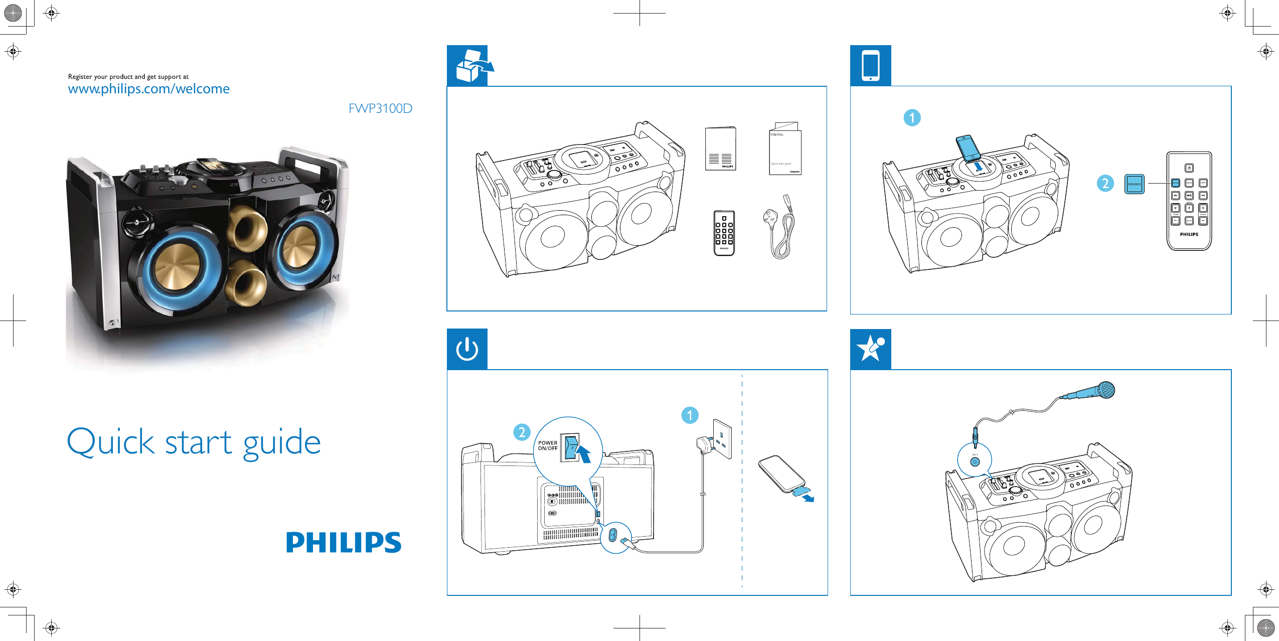 Philips Fwp3100d 05 Qsg V10 User Manual Lynhndbog 3100 Engine Diagram Aen