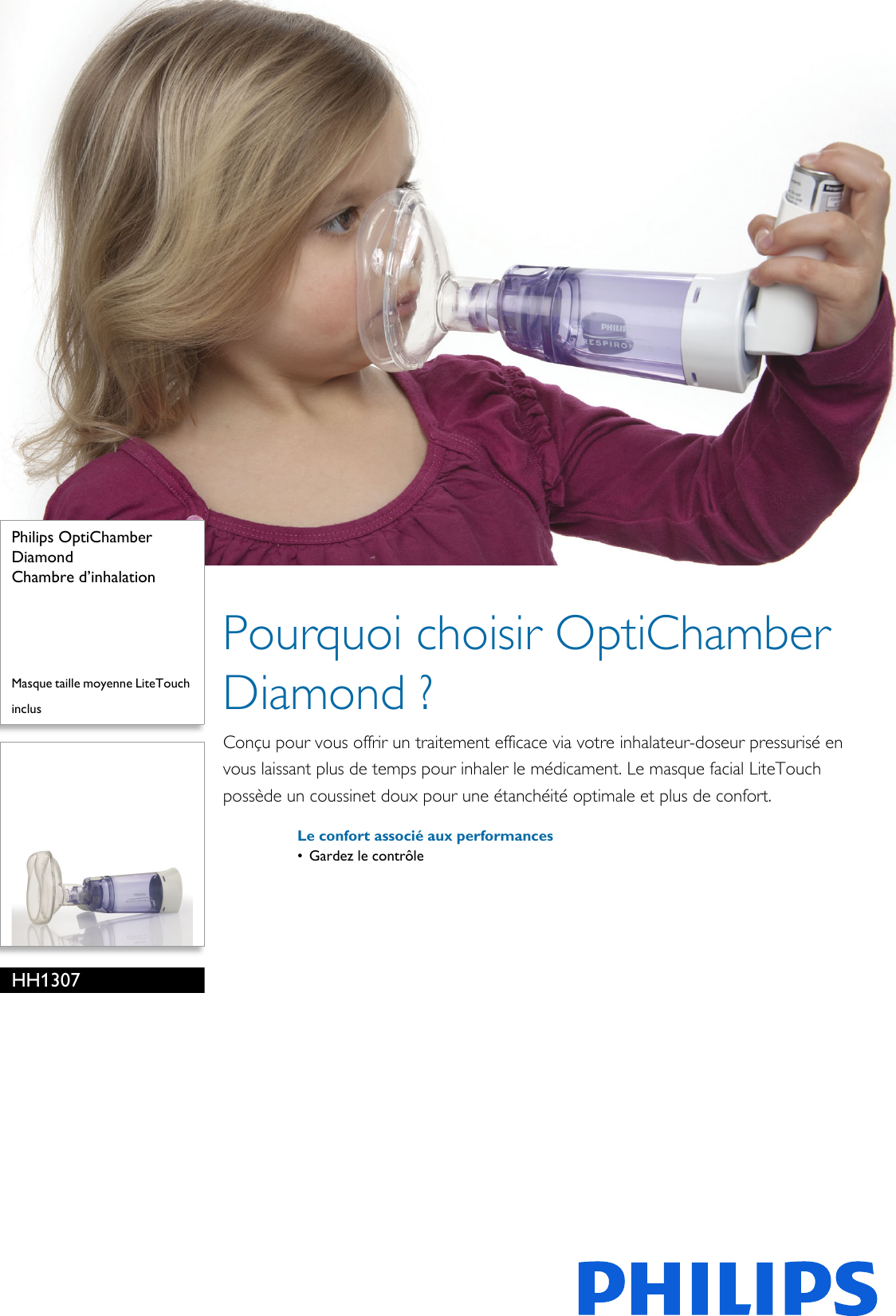 Taille Moyenne D Une Chambre philips hh1307/00 chambre d'inhalation user manual fiche