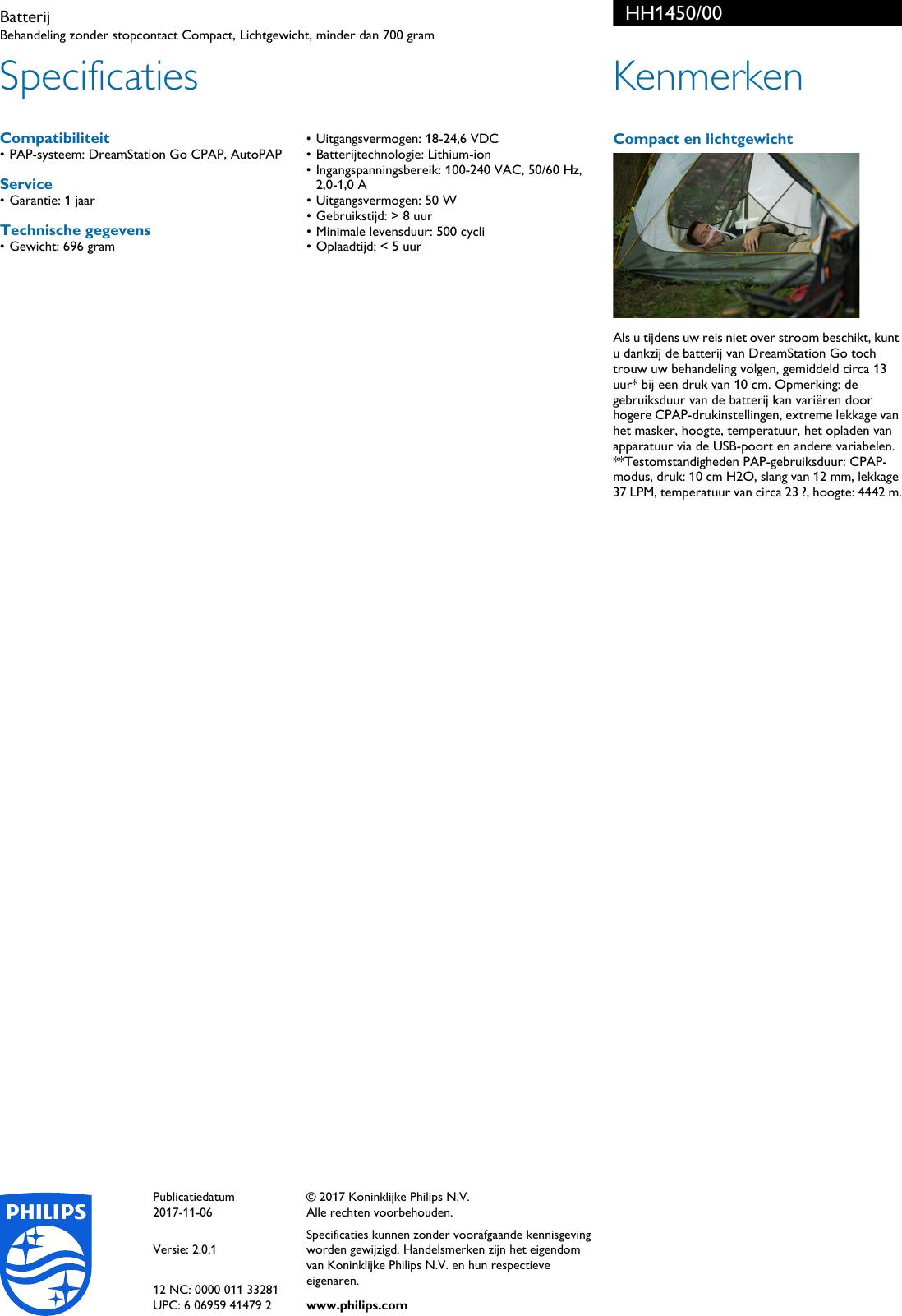 philips hh1450 00 batterij user manual brochure hh1450 00. Black Bedroom Furniture Sets. Home Design Ideas