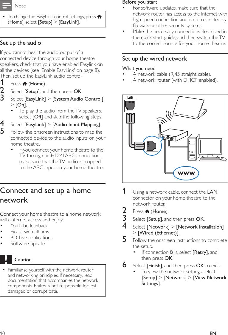 Philips HTS3541/51 HTS3541_MKII_51_RU User Manual               ...
