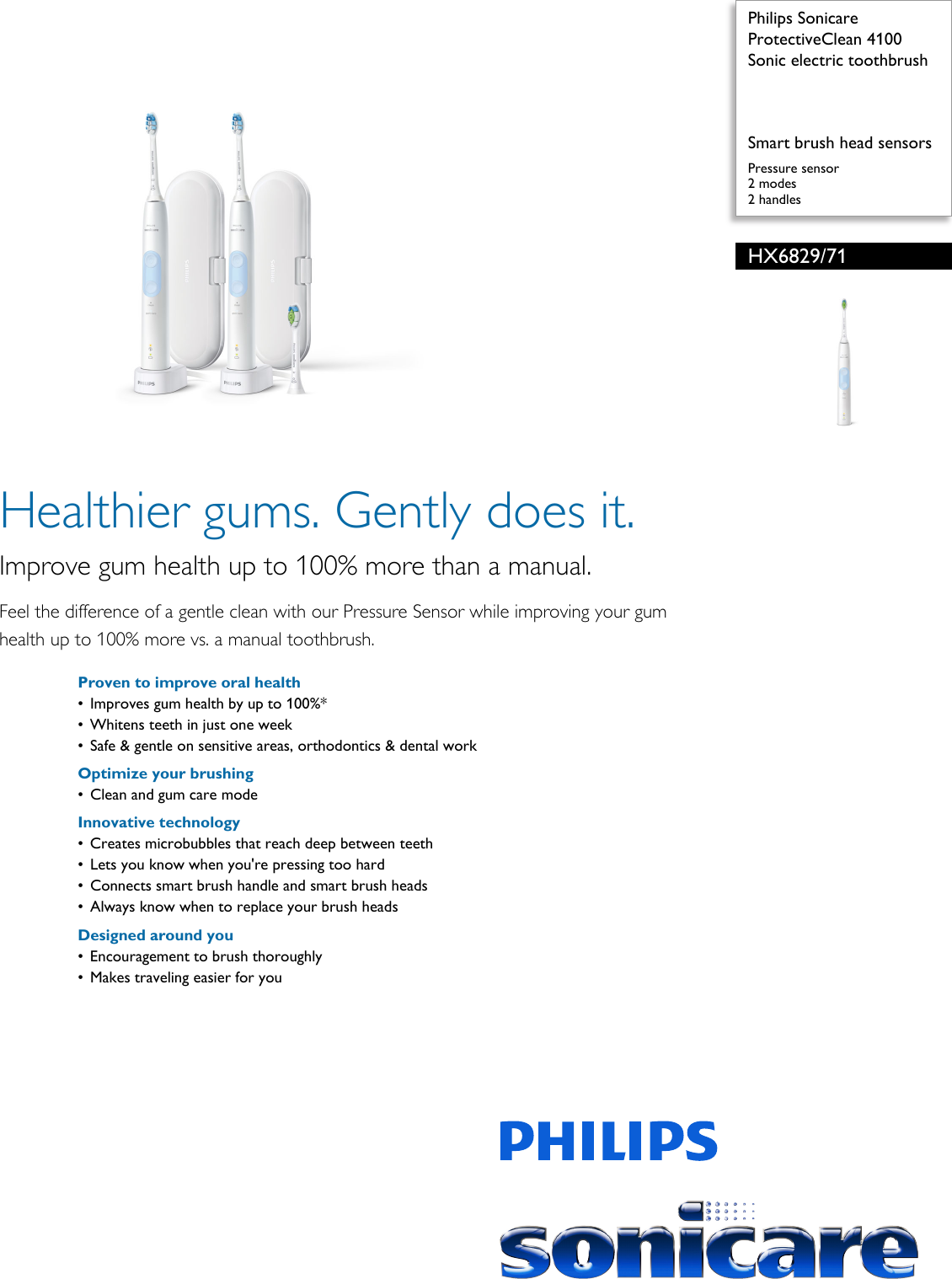 philips hx6829 71 sonic electric toothbrush user manual leaflet rh usermanual wiki philips sonicare service manual philips sonicare service manual
