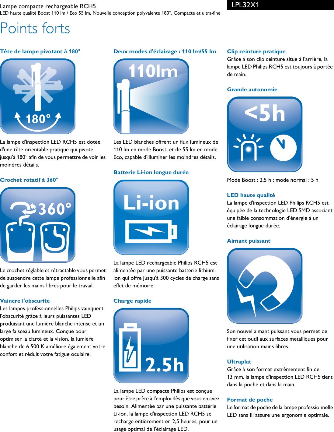 Leaflet FrancefrenchUser Lpl32x1 Philips Manual Fiche Released KFJcl1