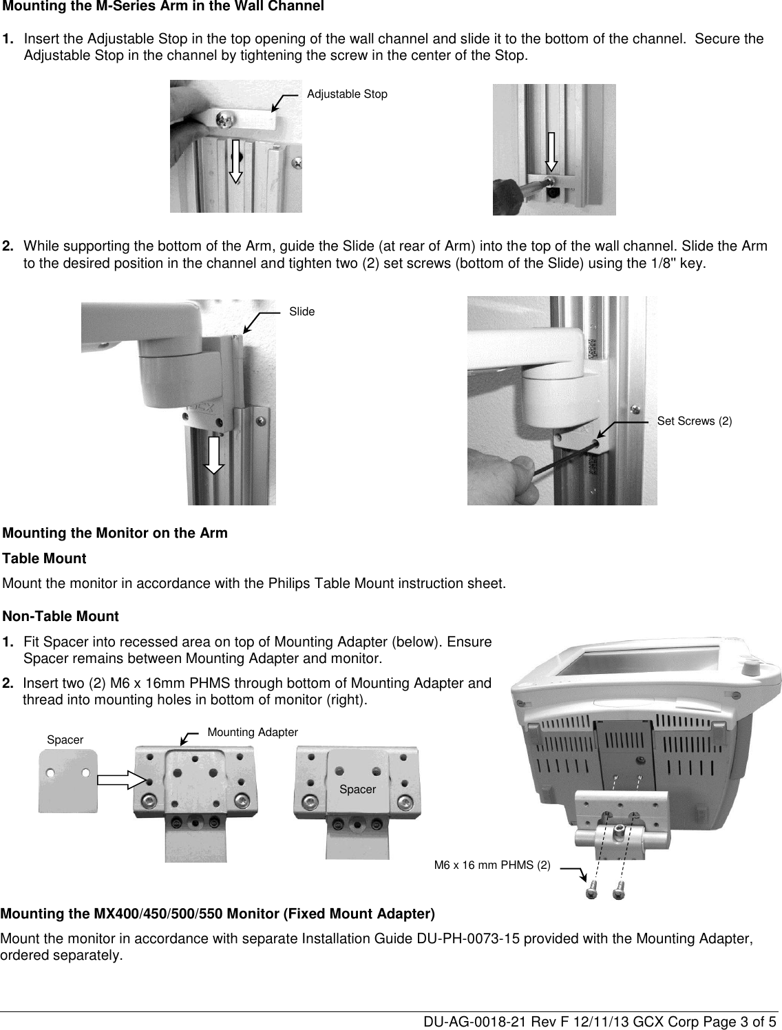 philips mnt80 gcx mounting assembly installation guide. Black Bedroom Furniture Sets. Home Design Ideas