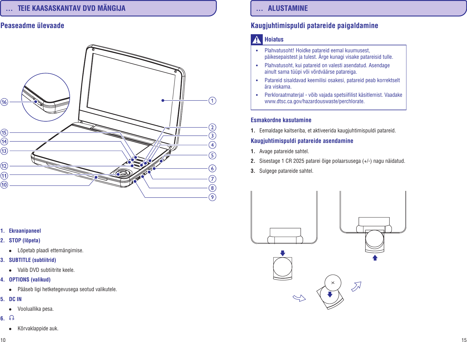 4fd2146971a Page 10 of 12 - Philips PD9000/12 PD9000_12 Estonian User Manual  Kasutusjuhend Pd9000 12