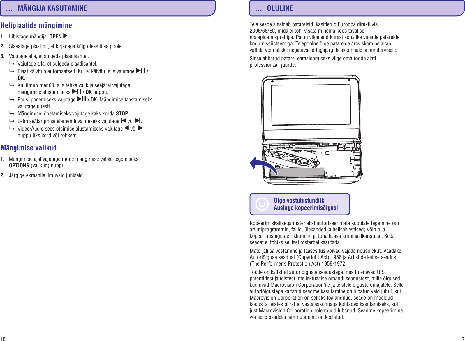 1f3d1f2262b Page 7 of 12 - Philips PD9000/12 PD9000_12 Estonian User Manual  Kasutusjuhend Pd9000 12