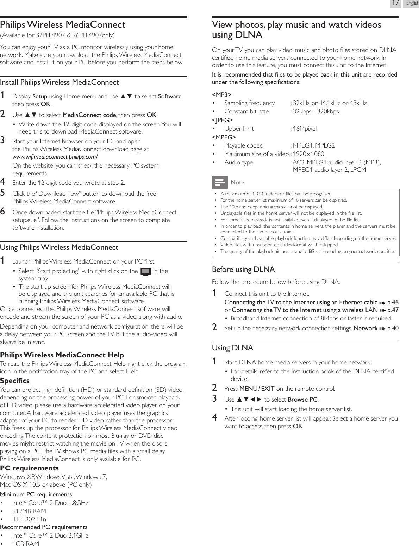 Philips 22Pfl4907 Users Manual マニュアル
