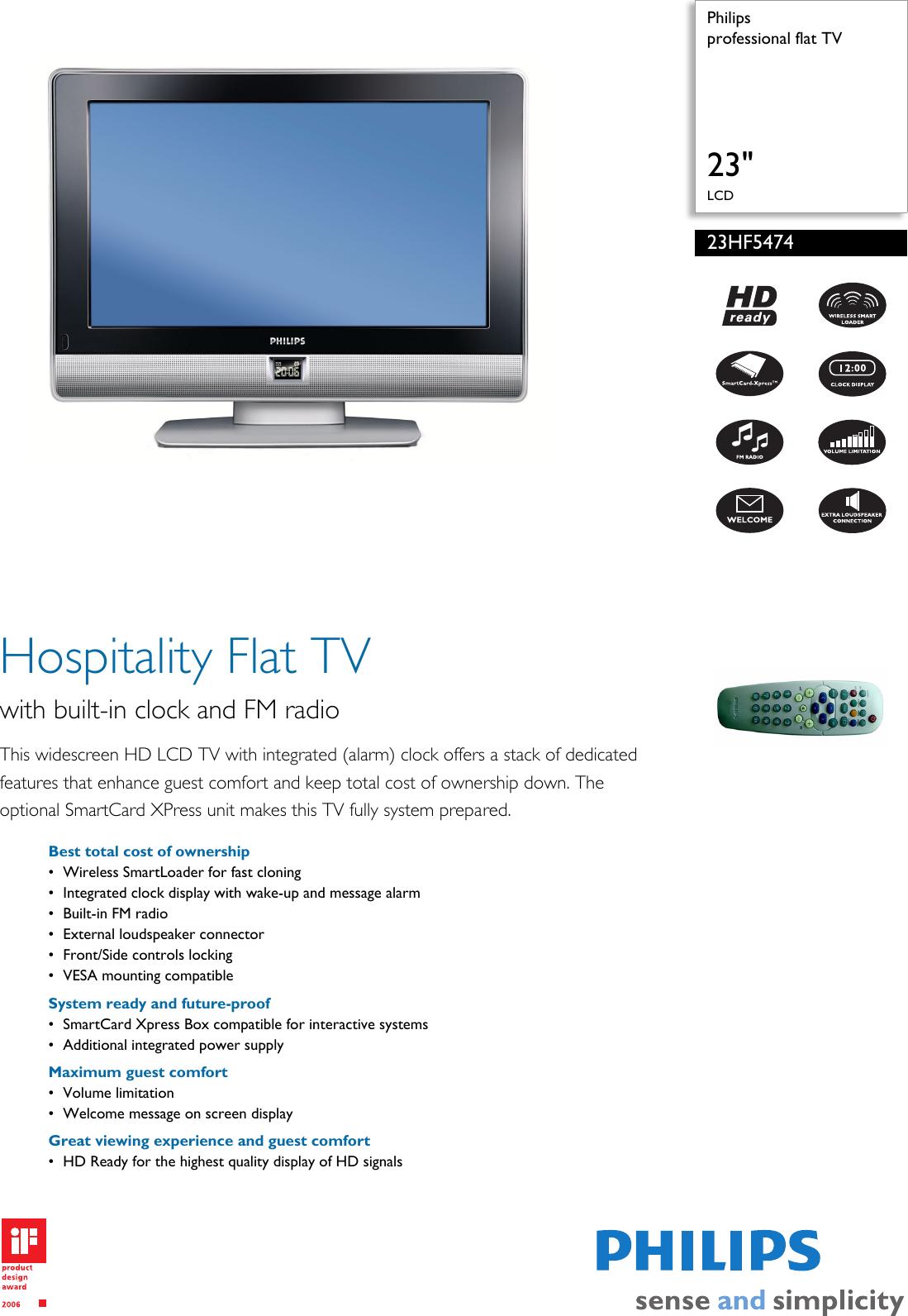 philips 23hf5474 users manual 23hf5474 10 professional flat tv rh usermanual wiki Philips Smart TV 32 Philips Smart TV 32