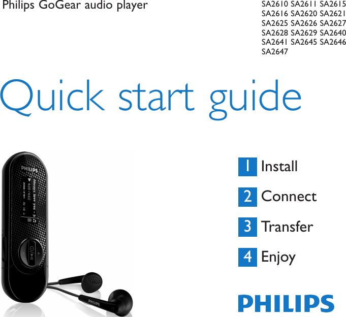 PHILIPS SA262837 MP3 PLAYER TREIBER