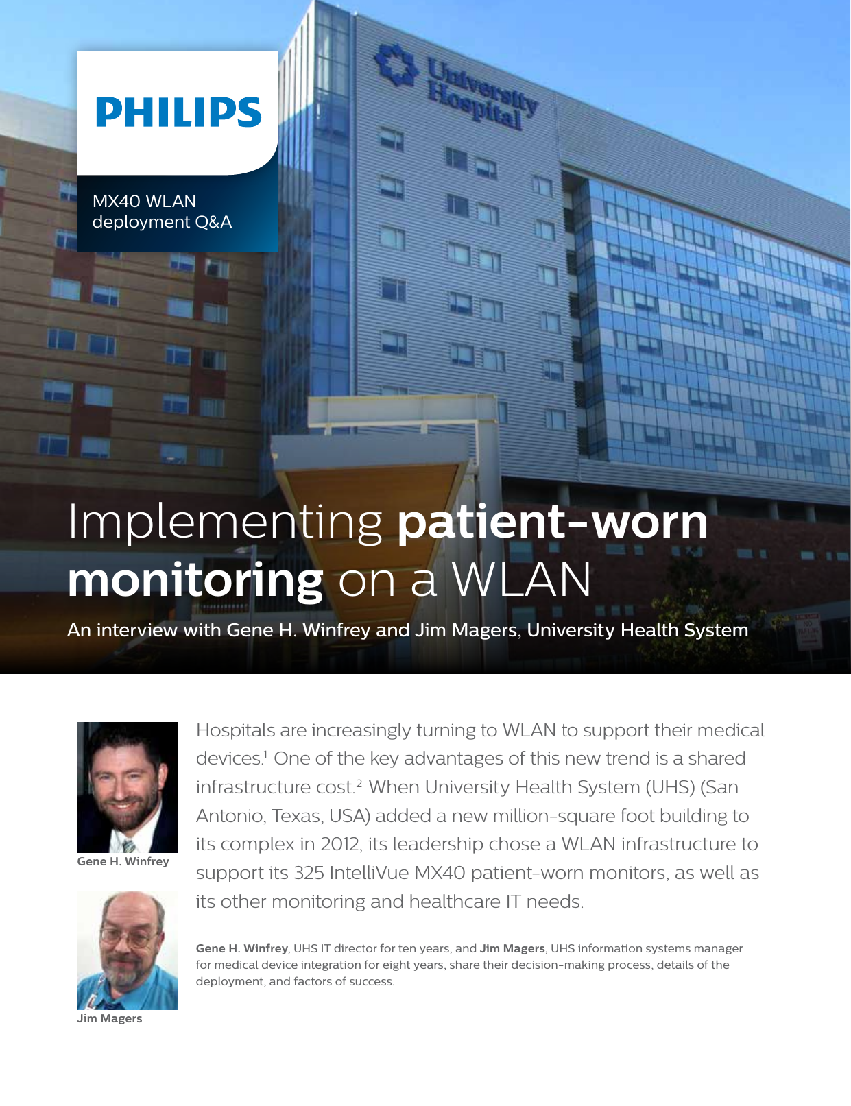 Philips Read On And UHS Customer Story