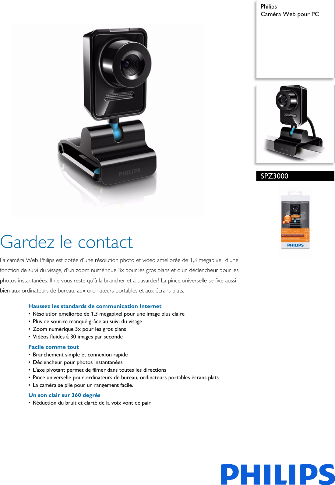 Philips Spz3000 00 Leaflet Spz3000 00 Released Canada