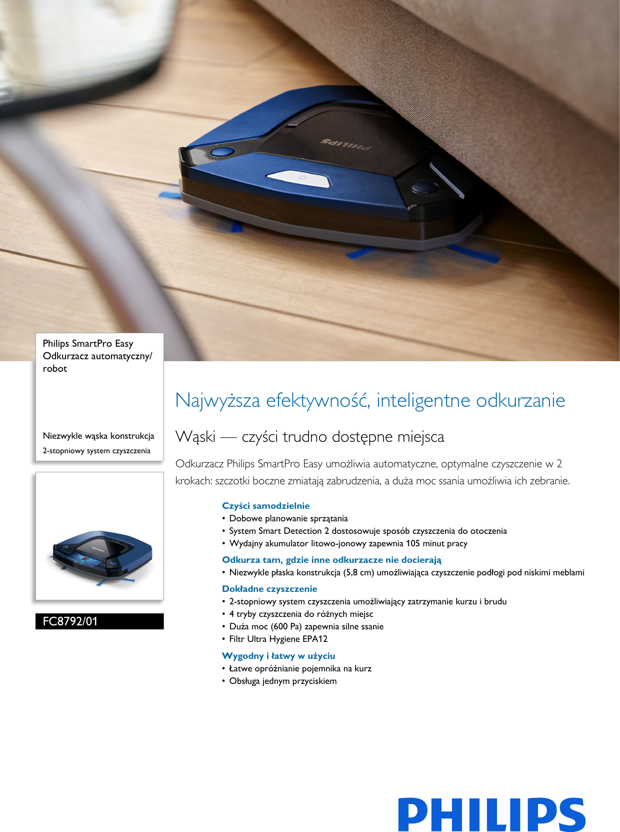 Philips Leaflet Fc879201 Released Poland Polish Fc8792 01 Pss Polpl