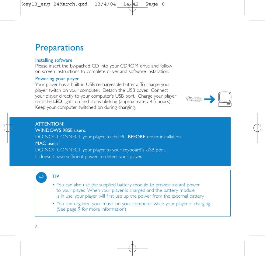 Philips Key13_eng 24March Manual De Instrucciones Key011 00