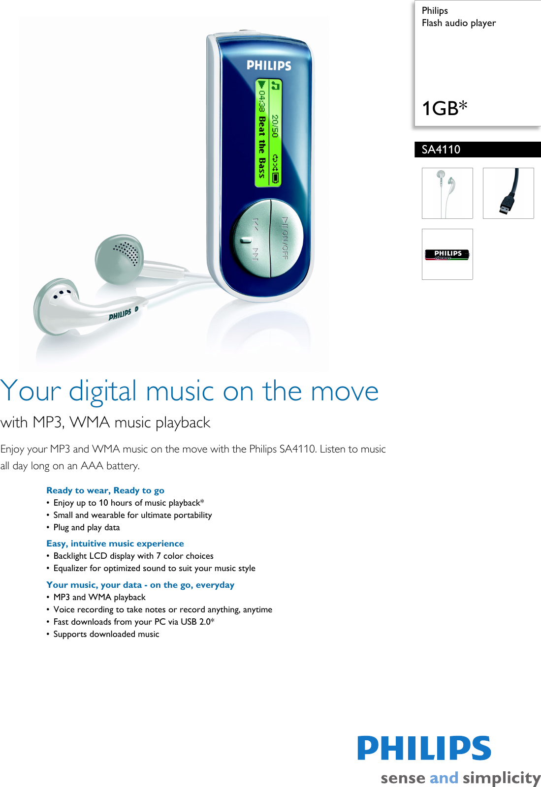 DRIVER UPDATE: PHILIPS SA411037 MP3 PLAYER