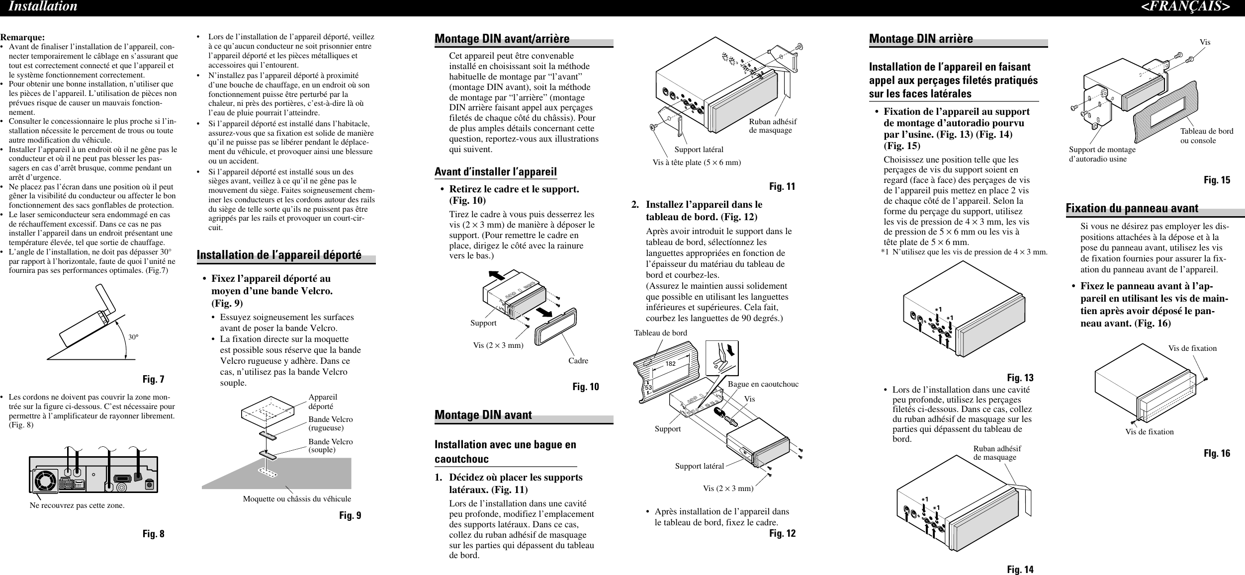 Pioneer Crd3782 A If Not Then 2038105installation Manual Avh P6500dvd Wiring Diagram Page 8 Of