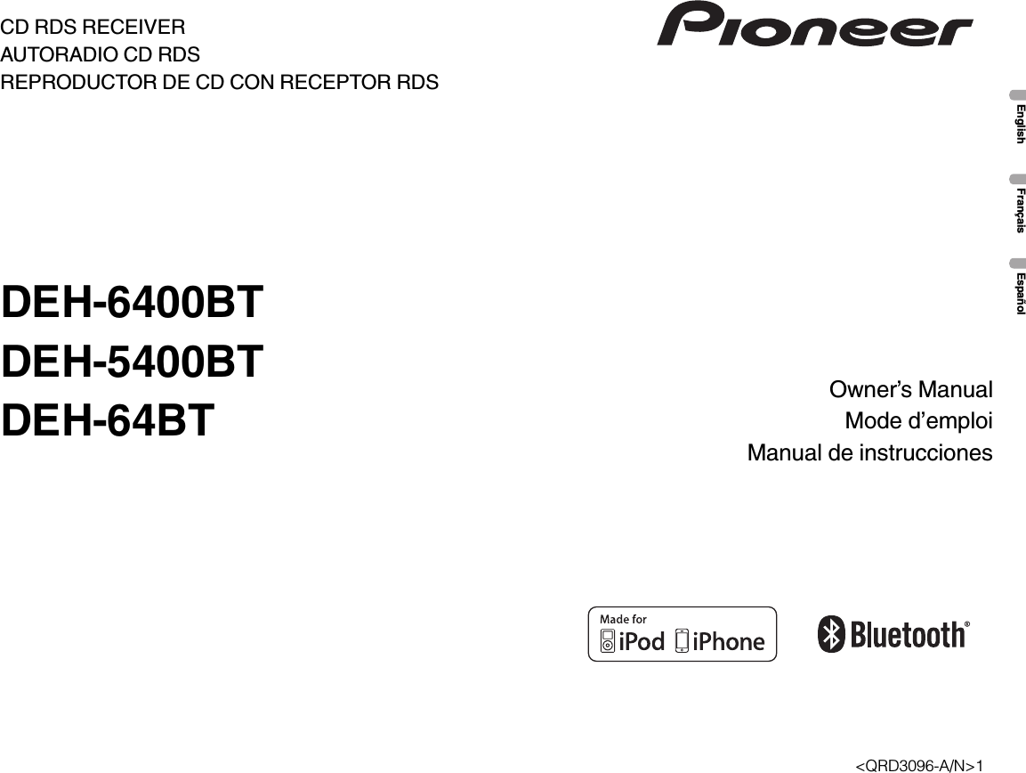 pioneer k042 cd rds receiver user manual p1 40 rh usermanual wiki Clip Art User Guide User Training