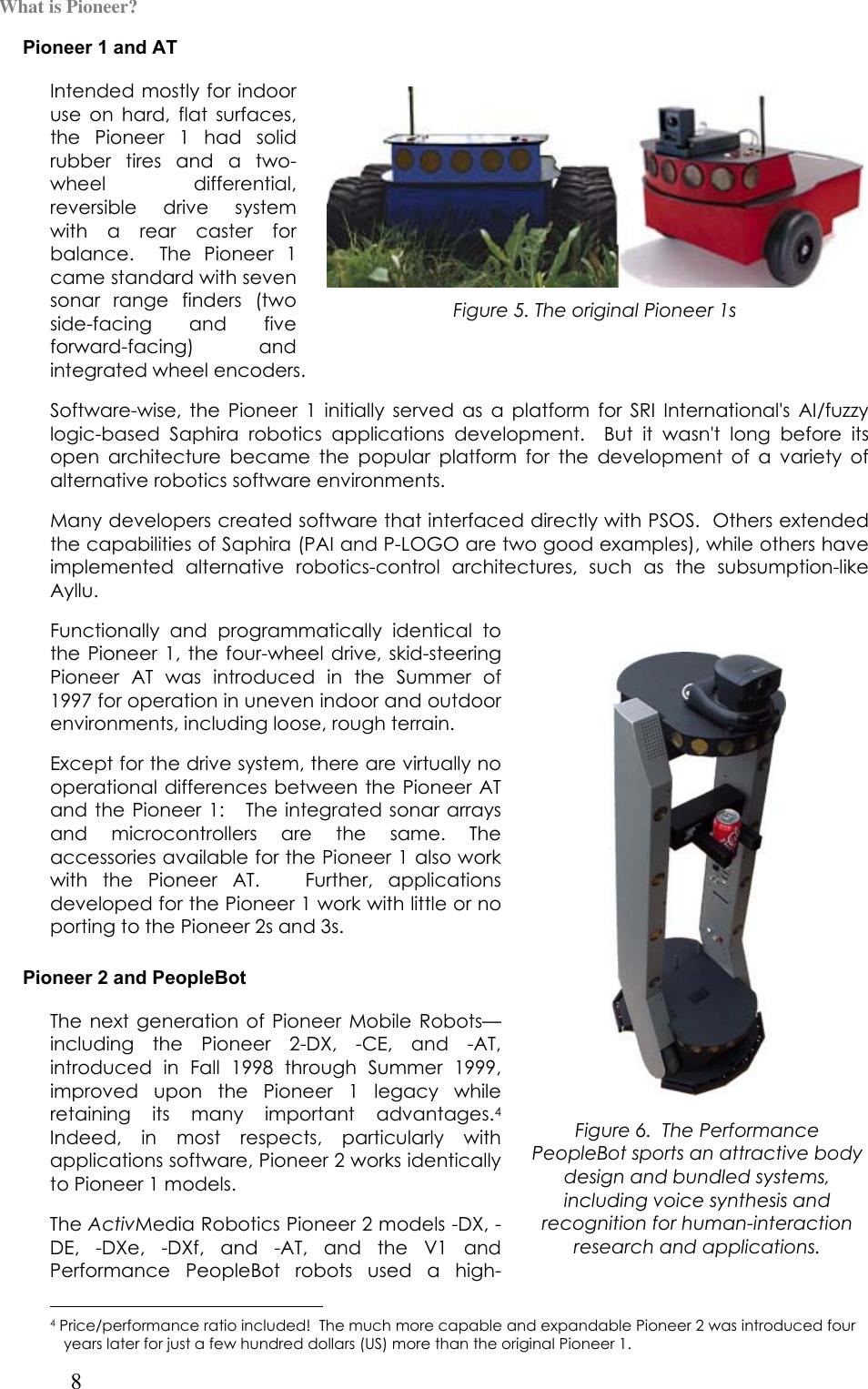 Pioneer 2Tm Users Manual Introduction