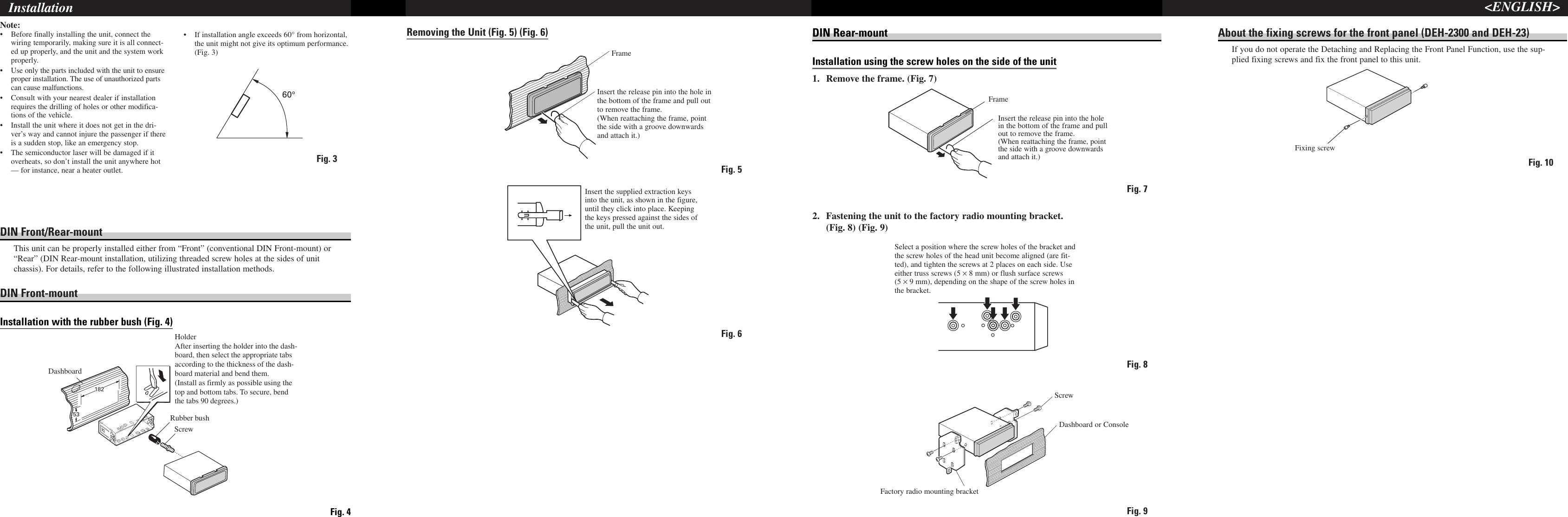 Pioneer deh 1300 users manual crd3280 b page 4 of pioneer pioneer deh 1300 users manual crd3280 sciox Gallery
