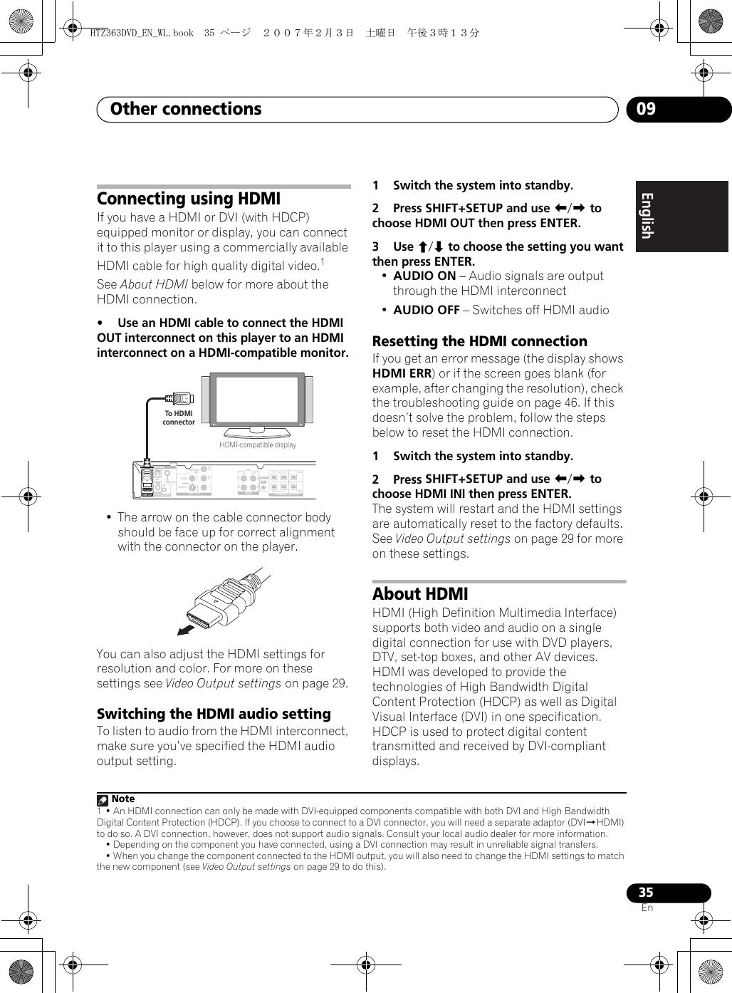 Pioneer Xv Dv363 Users Manual HTZ363DVD_EN_WL