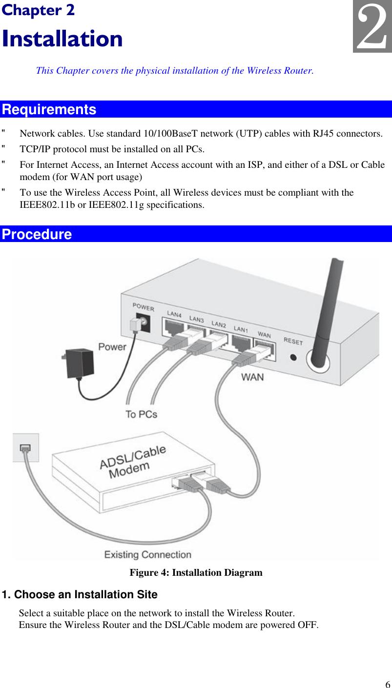 Groß Wireless Router Installationsdiagramm Galerie - Elektrische ...